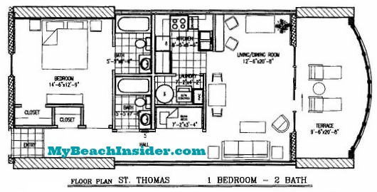 Twin Palms Resort Condo Floor Plans Panama City Beach