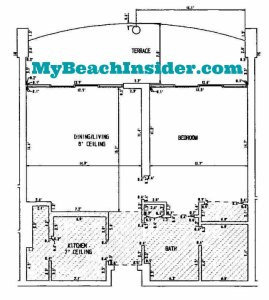 1 bedroom 1 bathroom tower 4 long beach resort