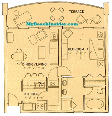 Long beach resort condo floor plans panama city beach - 3 bedroom condos panama city beach fl ...